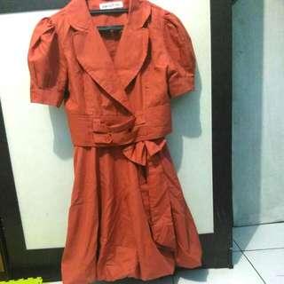 Dress Orange Uk S