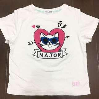 Major 貓咪布章可愛T