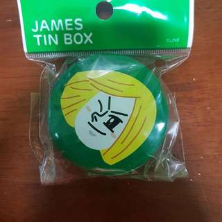 James Tin Box From LINE