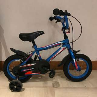 """12"""" Kid's Bicycle With Removable Training Wheels"""