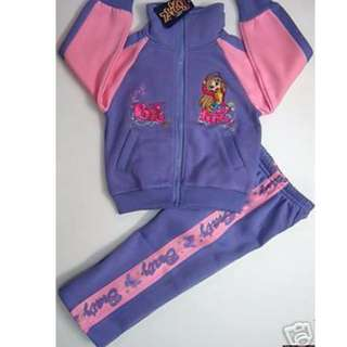 SIZE 4 PURPLE BRAT TRACKSUIT NEW
