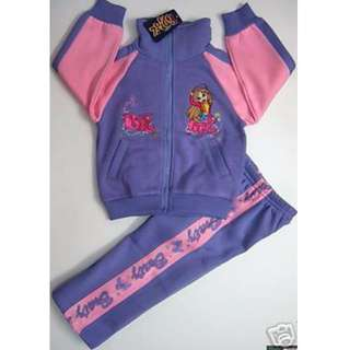 SIZE 5 PURPLE BRATZ TRACKSUIT NEW