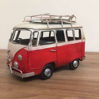 海灘麵包車 鐵件藝術造型 私人收藏 全部拋售