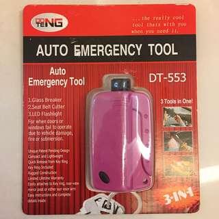 <全新> 三合一車用破窗神器   <Brand New> 3 In 1 Auto Emergency Tool