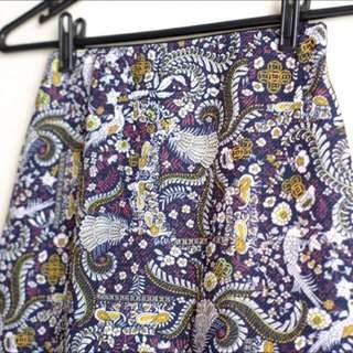Pull and Bear Midi Bodycon Skirt