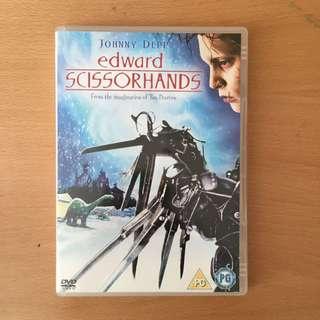 剪刀手愛德華 DVD 無中字有英文字幕