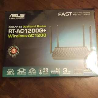 [BNIB] ASUS Dual-brand Wireless Router (RT-AC1200G+)