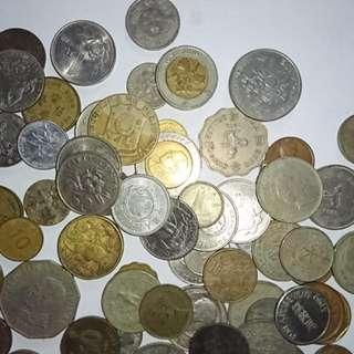 各國的古舊錢幣