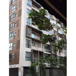 City Fringe FREEHOLD Condo 1 plus Study For Sale