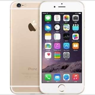 iphone6 4.7 64g 金色