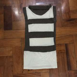 Stripes Long Top