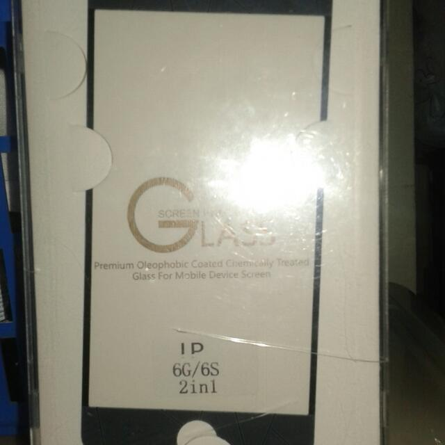4D tempered glass