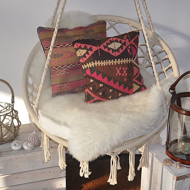 SALE SALE!! Handmade Gorgeous Macrame Hanging Chair