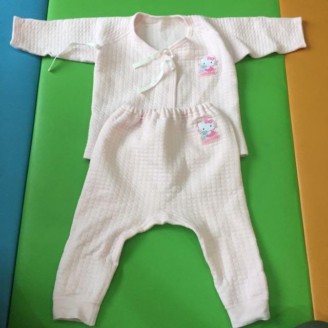 寶寶冬天肚衣+褲子兩套
