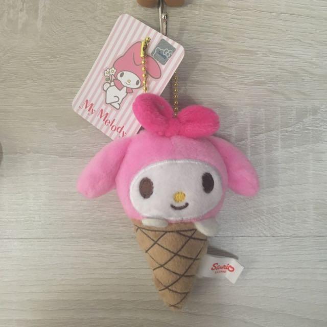 美樂蒂 冰淇淋吊飾🍦