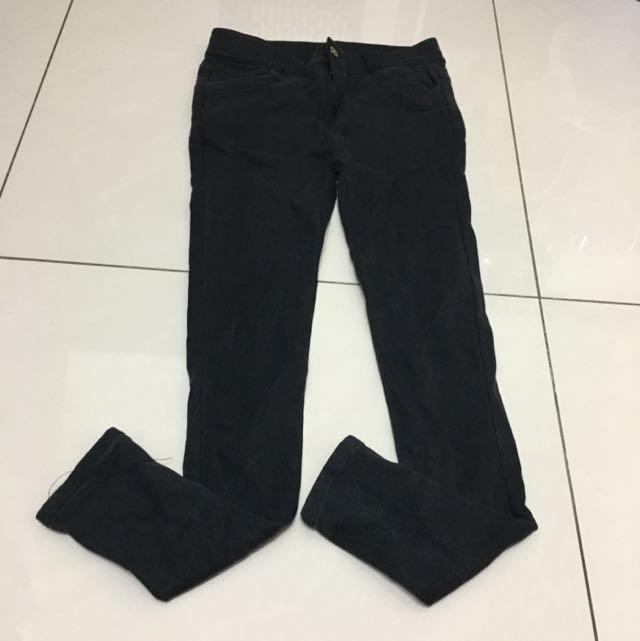 黑色 長褲