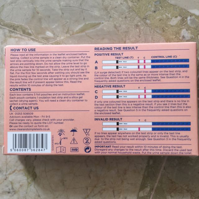 Accurate Ovulation Test Kit