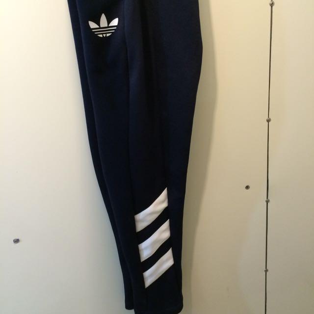 Adidas奕迅款深藍長褲
