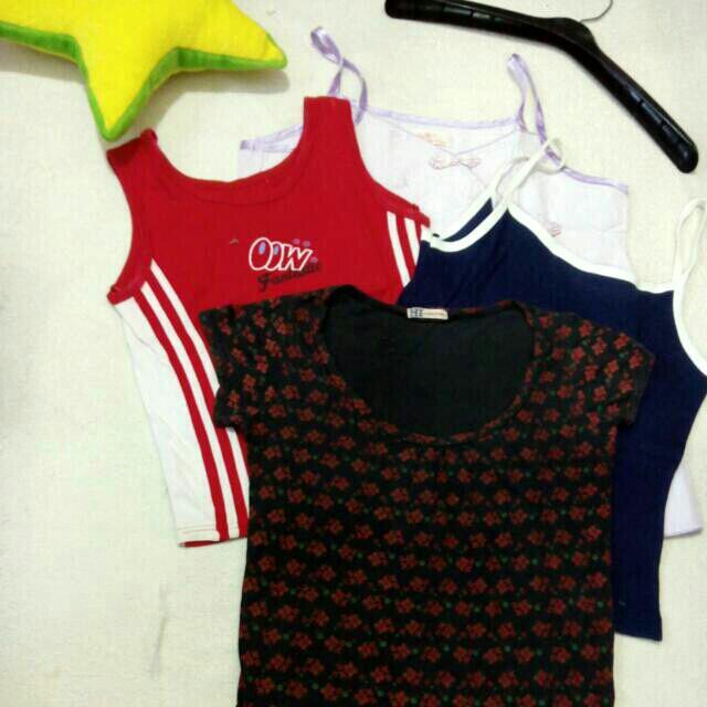 All Tank + Kaus Santai