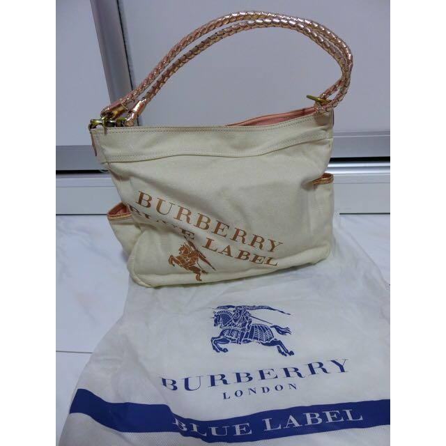 ebcf527eed2b Authentic Burberry Blue Label Shoulder Bag