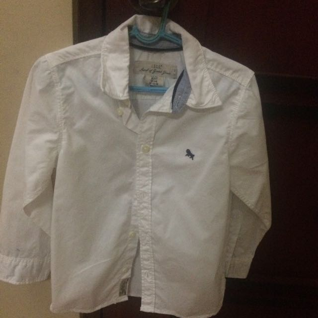 Authentic L.O.G.G White Long Sleeves For Boys