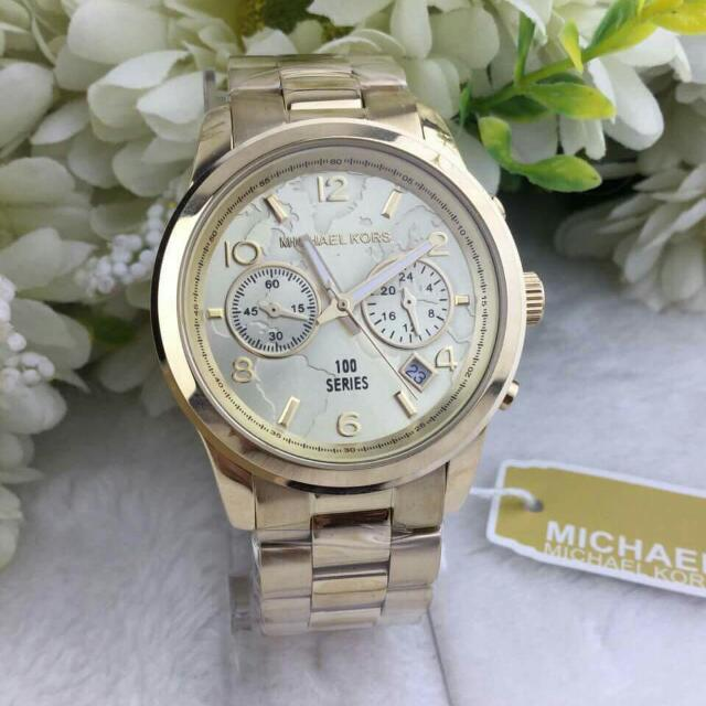 Authentic mk watch with world map design luxury watches on carousell photo photo photo gumiabroncs Images