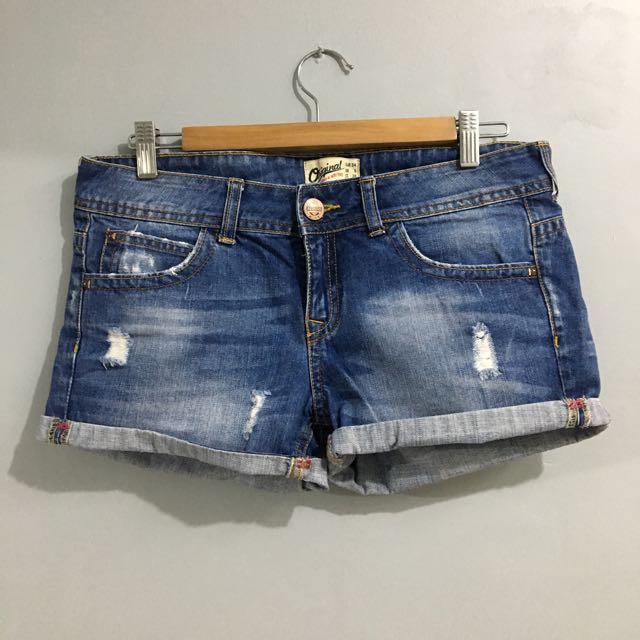 Bershka Short Demin Shorts