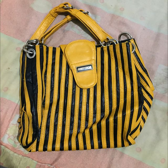 Black & Yellow Bag