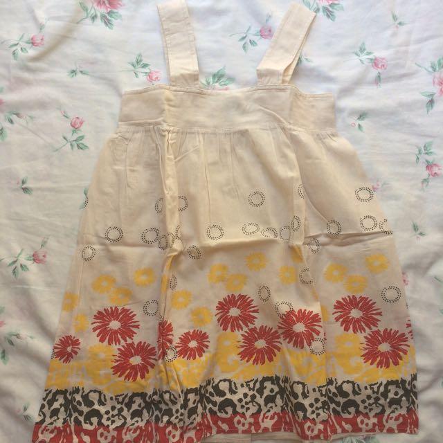 BNY Jeans Cream Top Dress Shirt