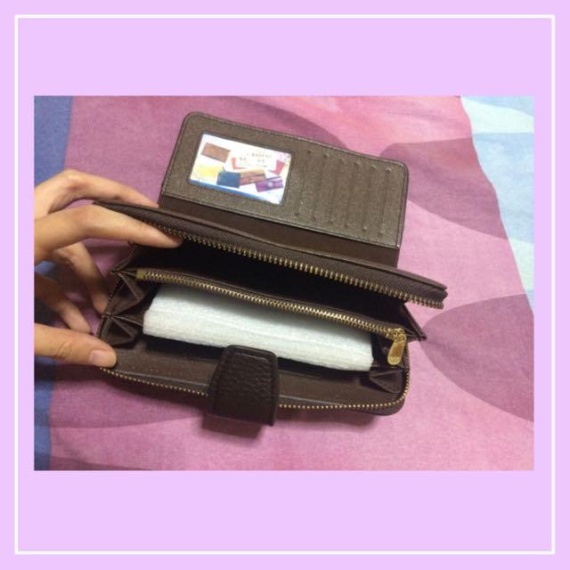 Brown Armani Wallet