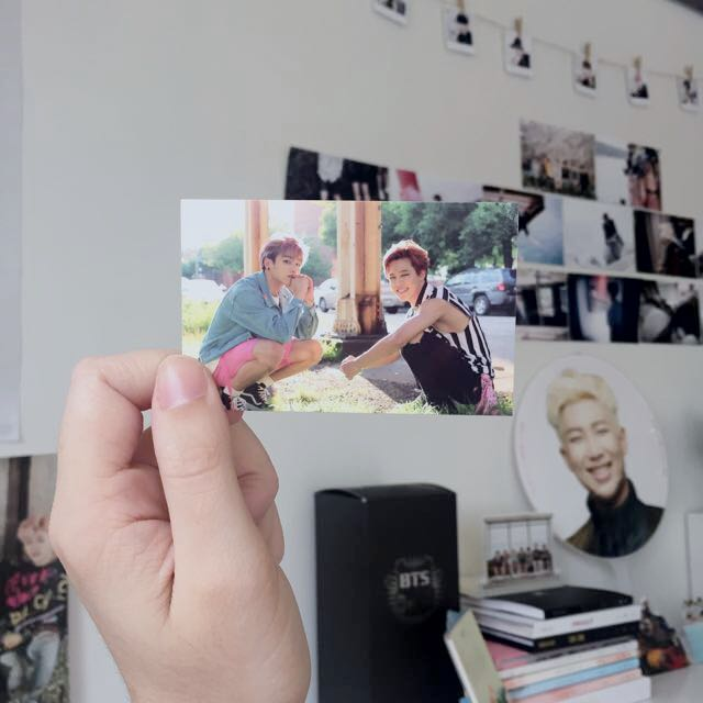 BTS: Now 3 Dreaming Days, Jungkook And jimin Photocard