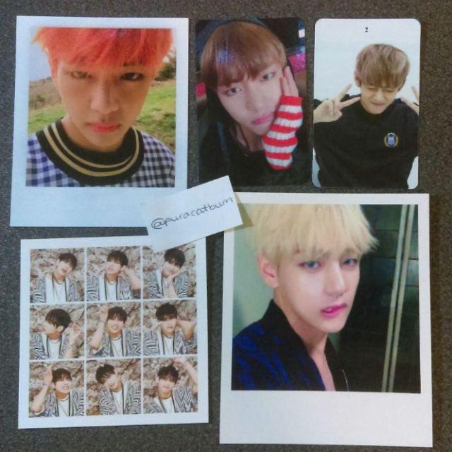 BTS Taehyung V Photocard Set