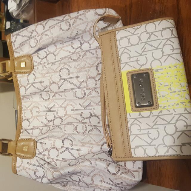 Calvin Klein Purse Plus Matching Wallet