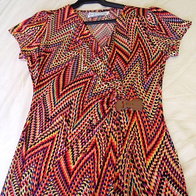 Calypso Retro Dress