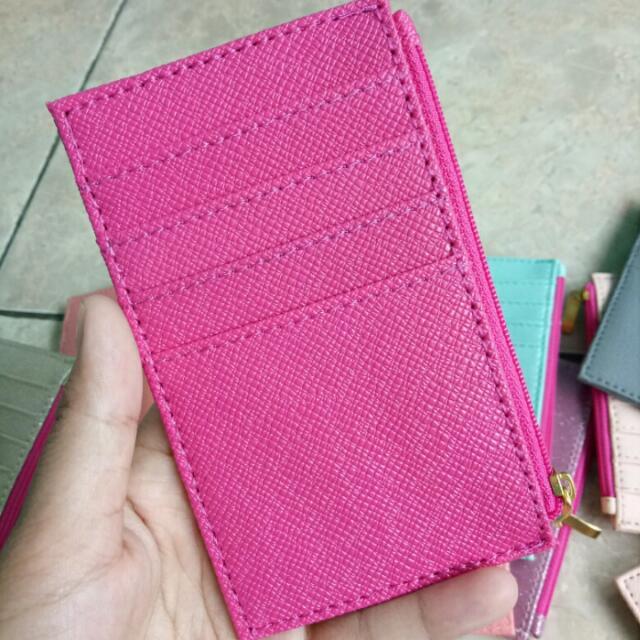 Card Holder Pink Fanta Cuzdan