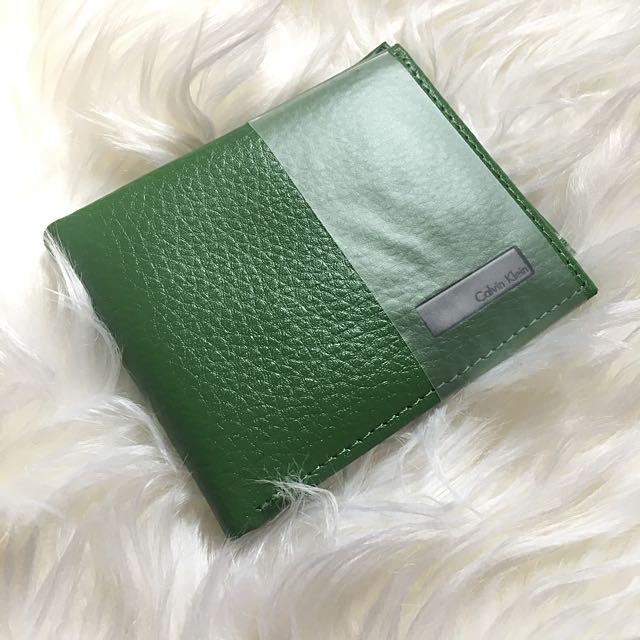 CK wallet (Apple Green)