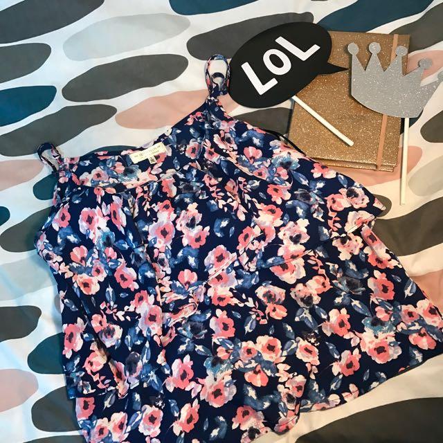Cotton on • Floral Sleeveless.