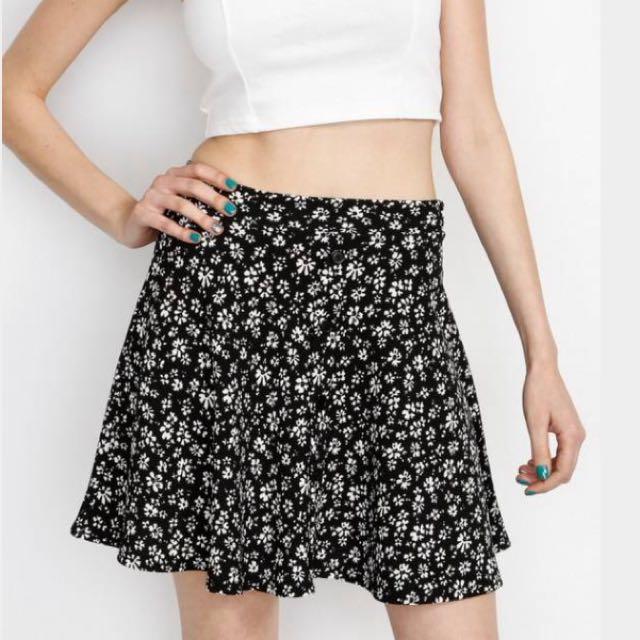 Cotton On Flower Skater Skirt