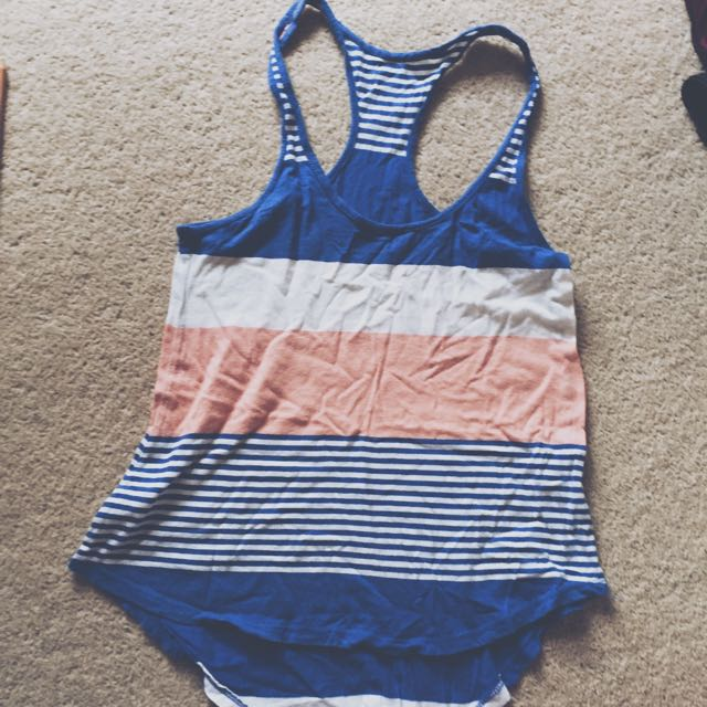 Curved Hem Summer Tank Top