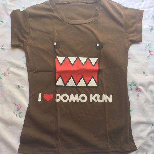Domo Kun Brown Shirt