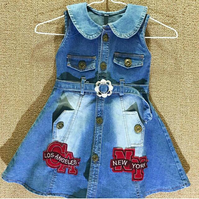 Dress Levis Anak (New)