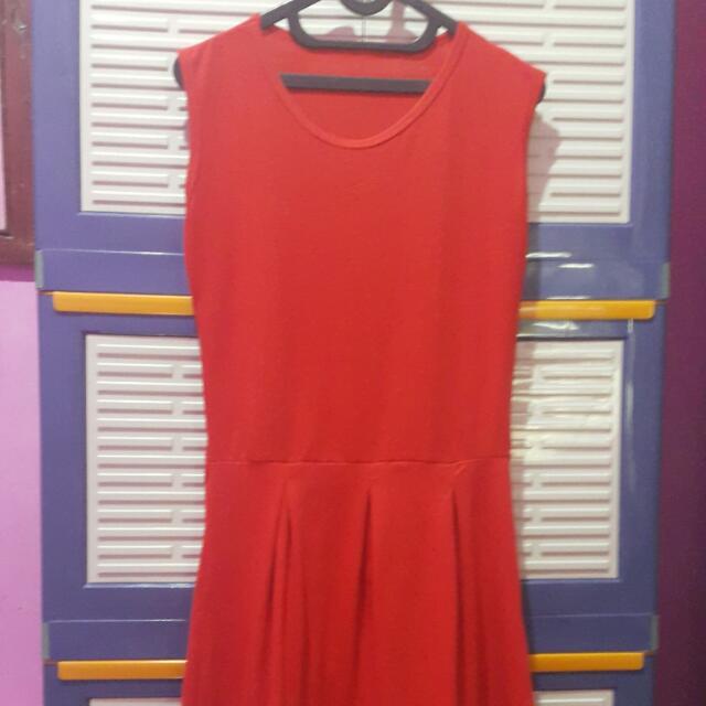 Dress Merah (3 Items 100rb)