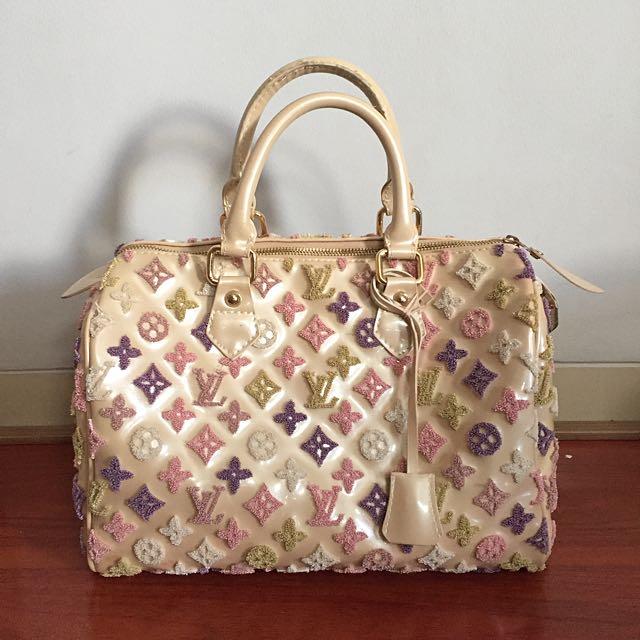 Embroidery Louis Vuitton Bag