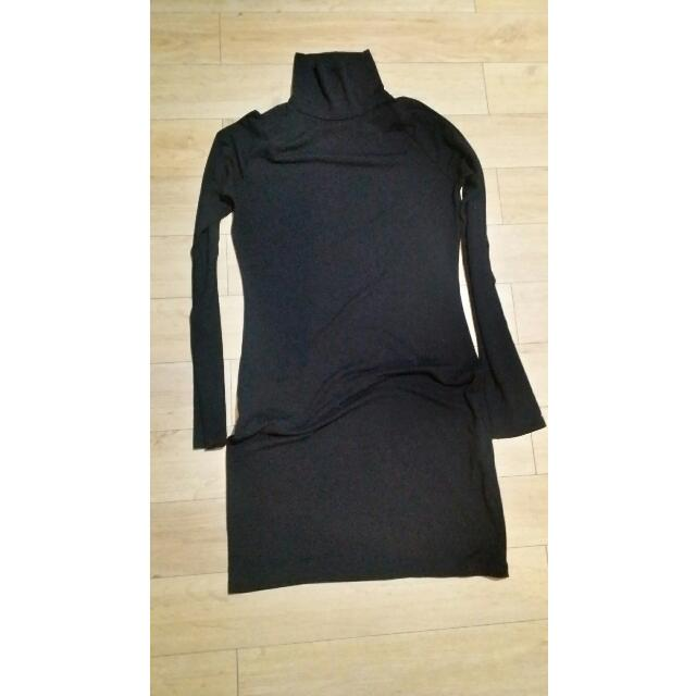 F21 Turtleneck Bodycon Dress