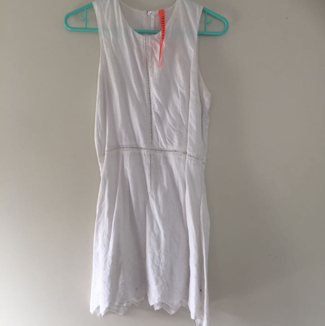 Federation White Dress