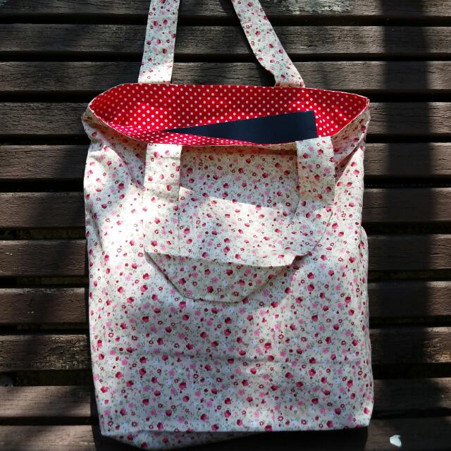 Floral Simple Tote Bag