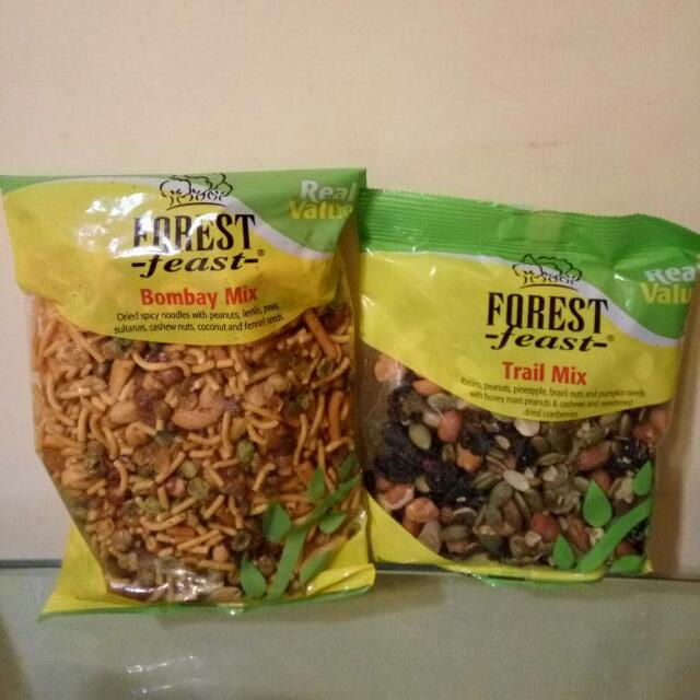 Forest Feast Snacks $10 Each