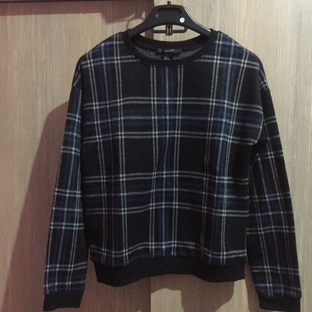 Forever21 Tartan Sweater