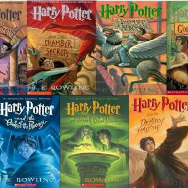 FREE Harry Potter Book 1-7 Ebook