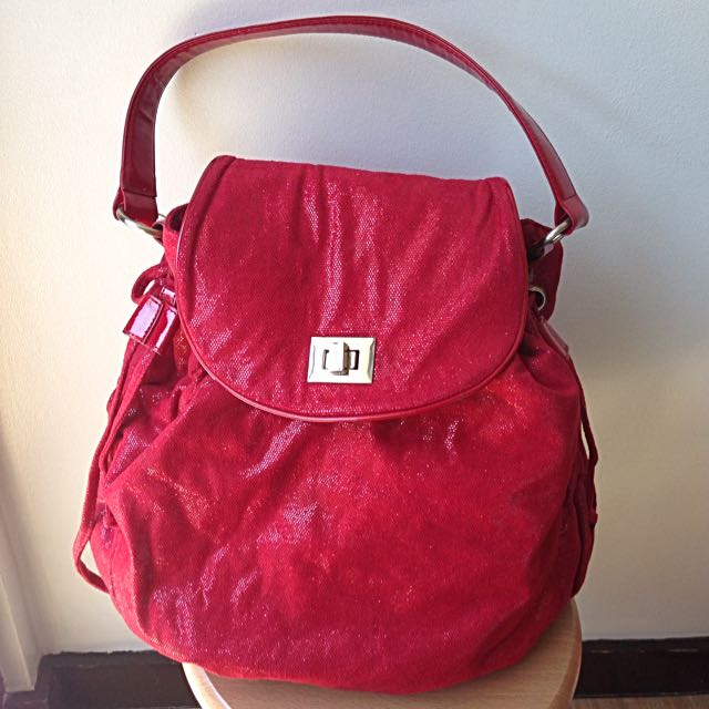 Girbaud Red Bag